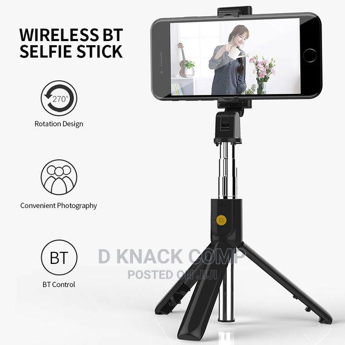 Selfie Stick Integrated Tripod BT 4.0 Wireless Selfie Stick