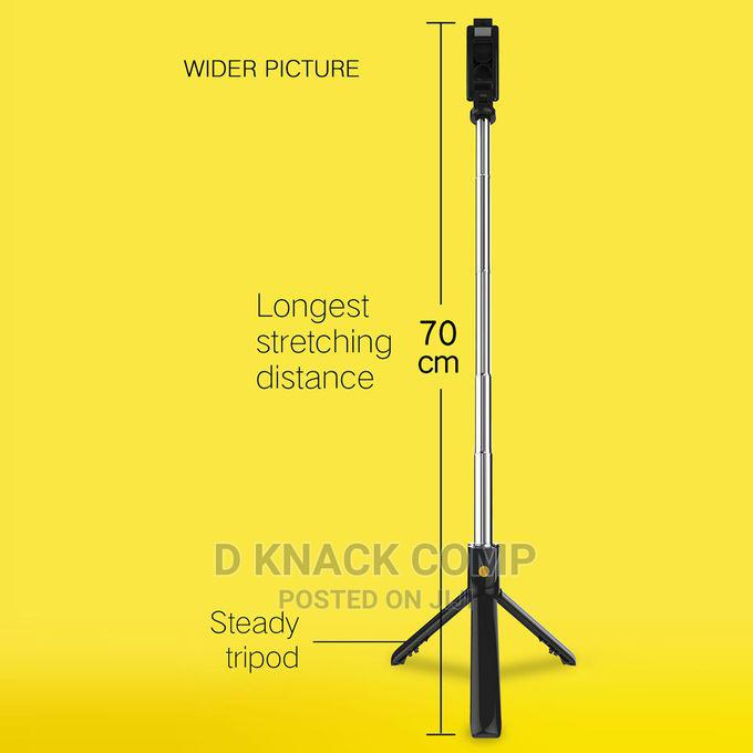 Selfie Stick Integrated Tripod BT 4.0 Wireless Selfie Stick | Accessories for Mobile Phones & Tablets for sale in Ikorodu, Lagos State, Nigeria