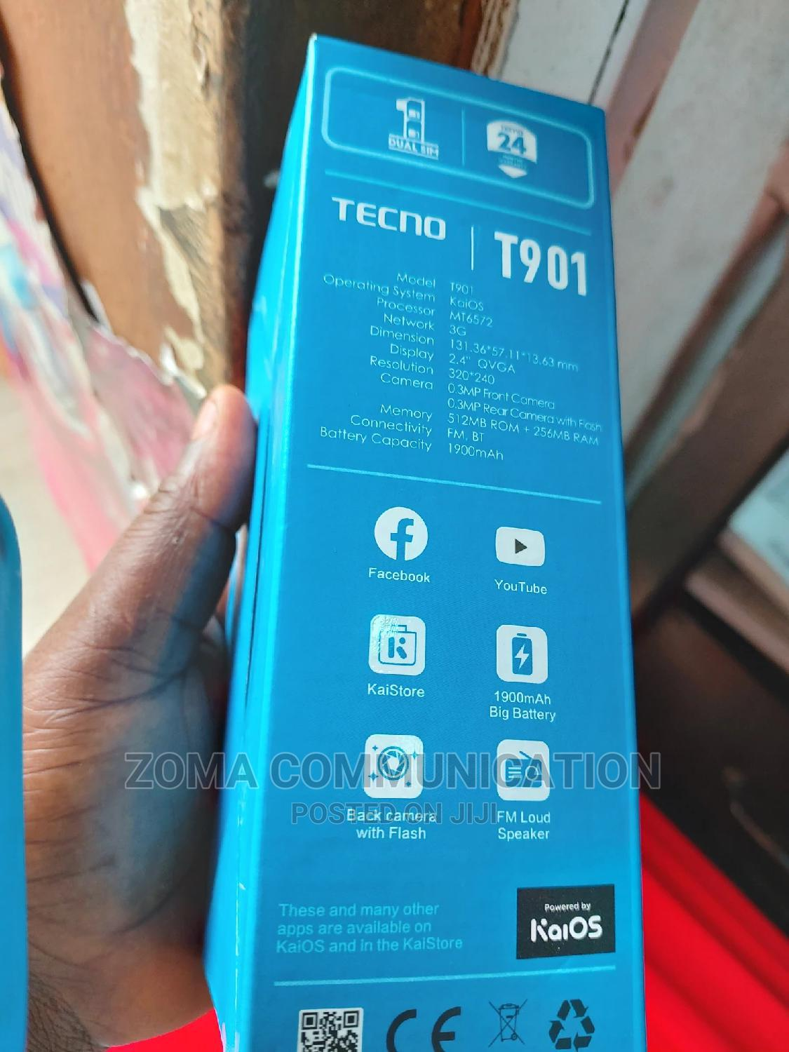 New Tecno T901 Gold   Mobile Phones for sale in Ikeja, Lagos State, Nigeria