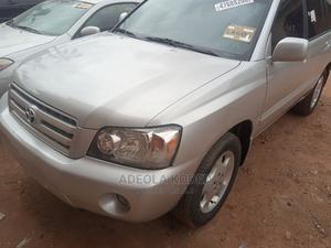 Toyota Highlander 2005 Limited V6 Silver   Cars for sale in Lagos State, Alimosho