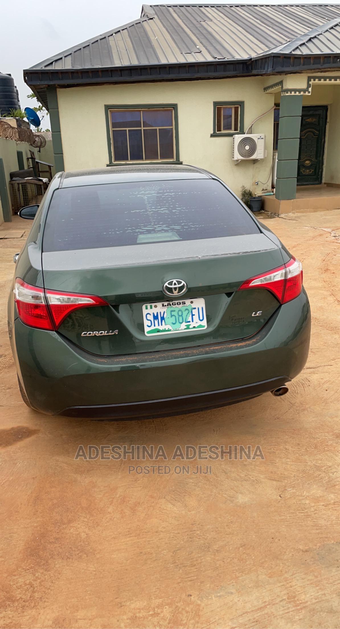 Archive: Toyota Corolla 2014 Green