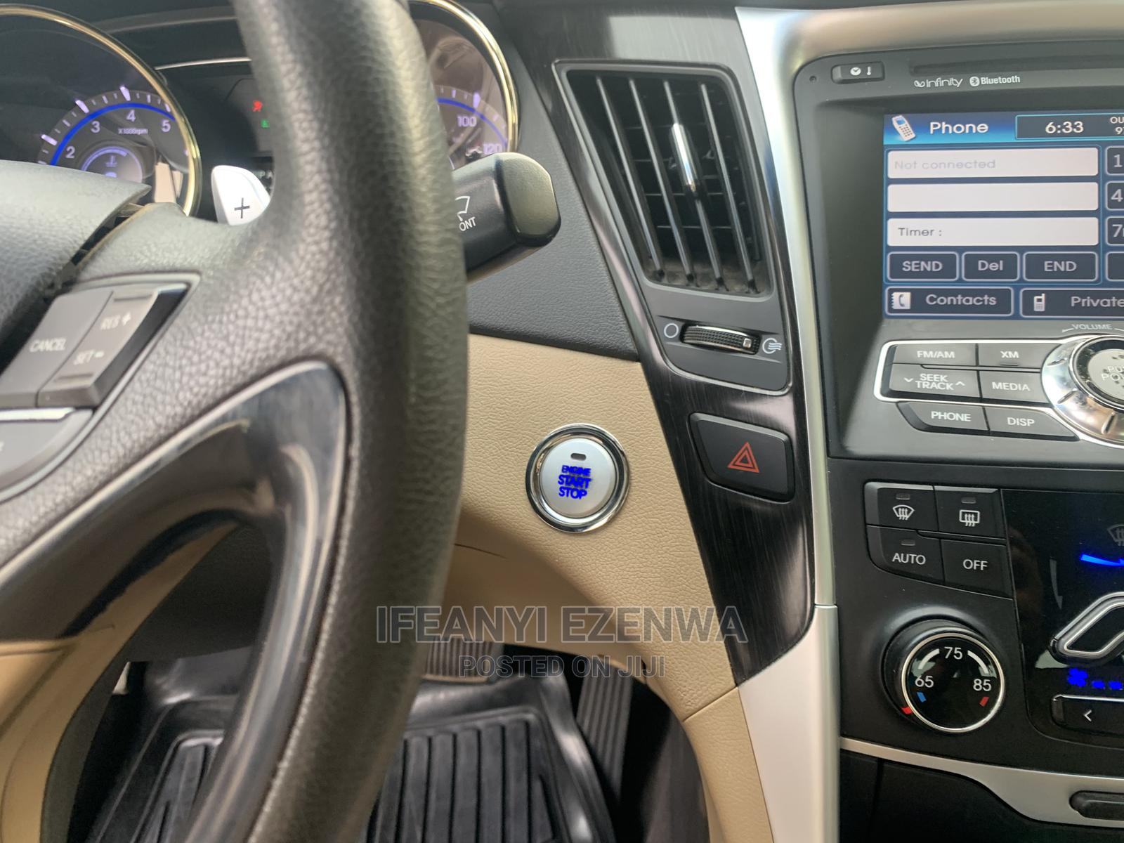 Hyundai Sonata 2011 Red | Cars for sale in Gwarinpa, Abuja (FCT) State, Nigeria