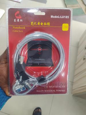 Notebook Cable Lock (2 Metres)   Computer Accessories  for sale in Lagos State, Ikeja