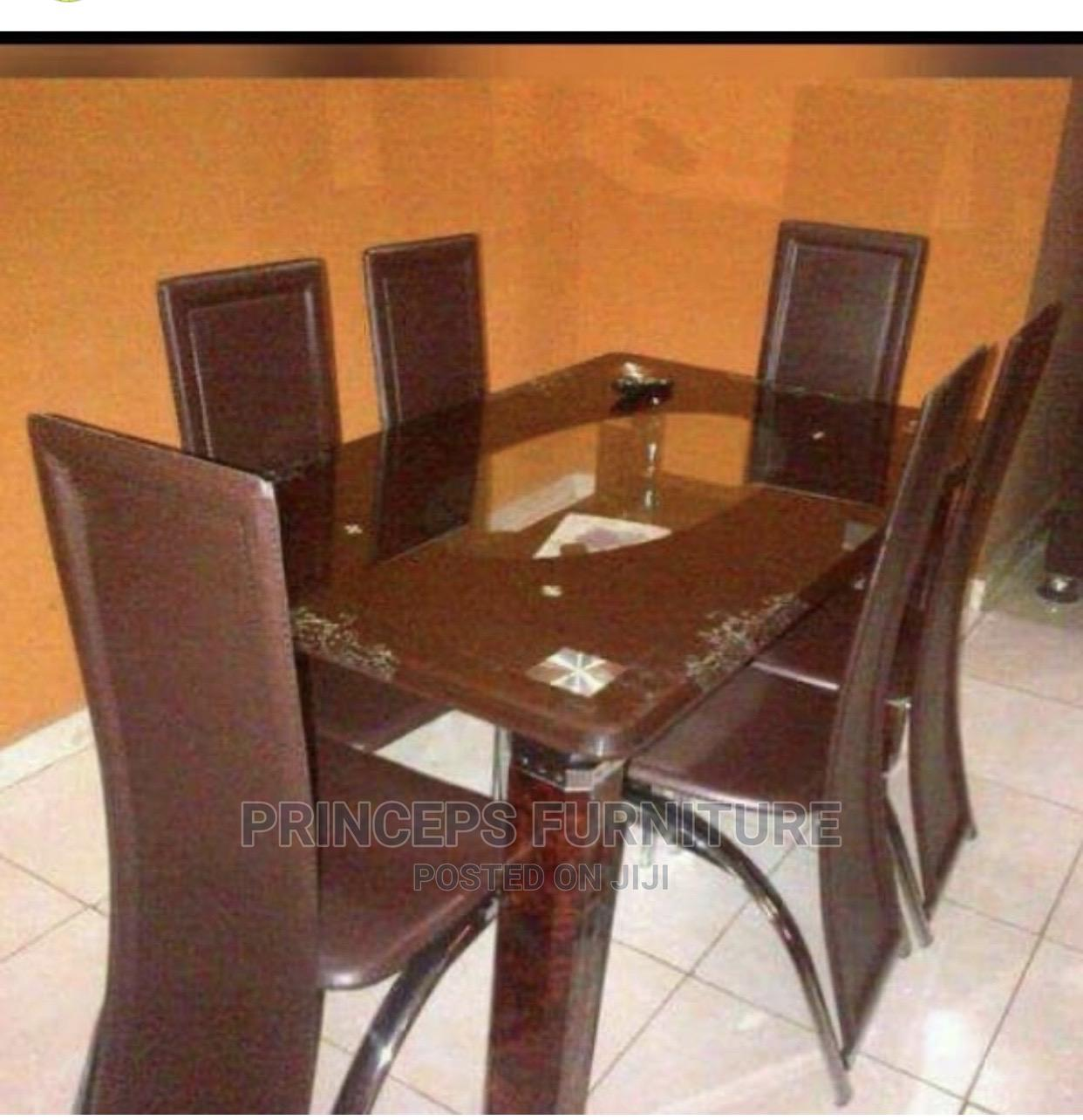 Archive: Brand New Imported Glass Table Dinning Table for 6 Seaters
