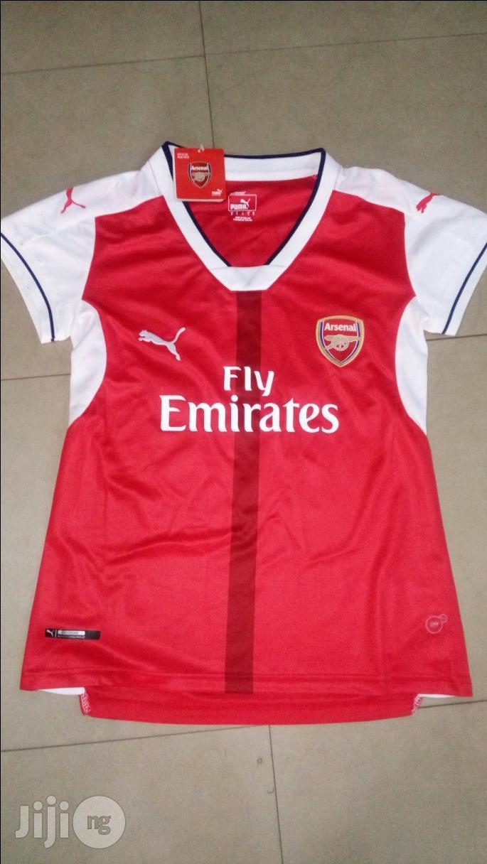 Original Ladies Arsenal Latest Jersey | Clothing for sale in Ikeja, Lagos State, Nigeria