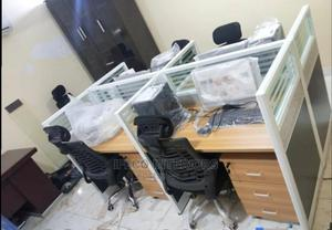 Quality 4 Seaters Workstation Table With Drawers | Furniture for sale in Abuja (FCT) State, Central Business District