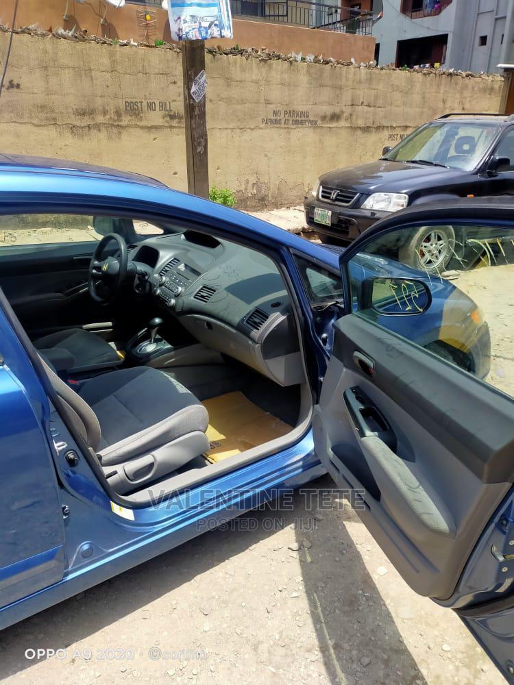 Archive: Honda Civic 2008 1.8 EX Automatic Blue