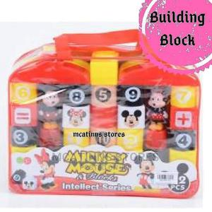 Children Building Blocks - Mickey Mouse   Toys for sale in Lagos State, Ikorodu