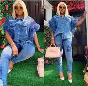 Classy Set of Jeans Dress for Women   Clothing for sale in Lagos State, Lekki