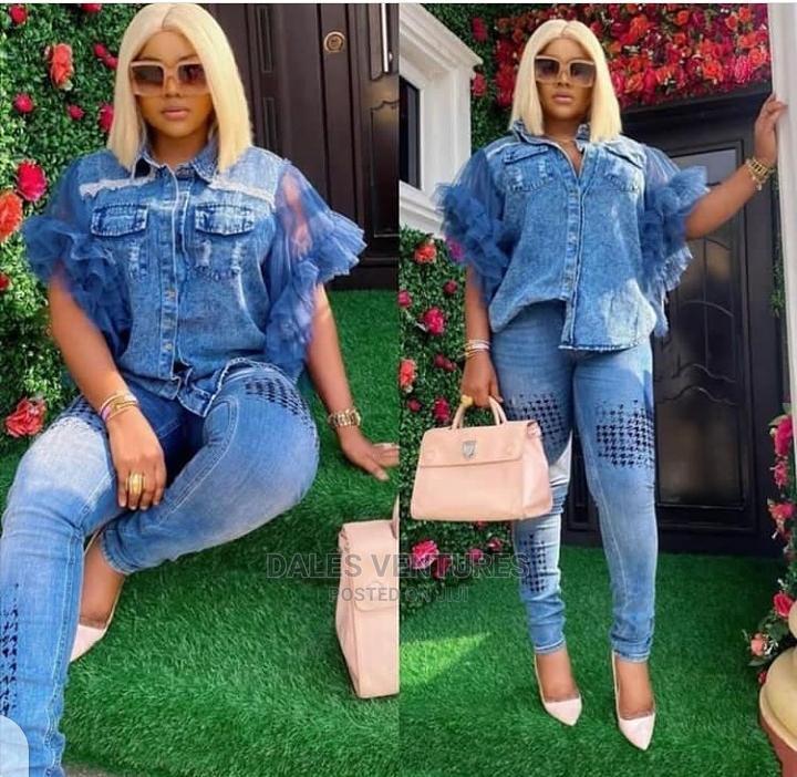 Classy Set of Jeans Dress for Women