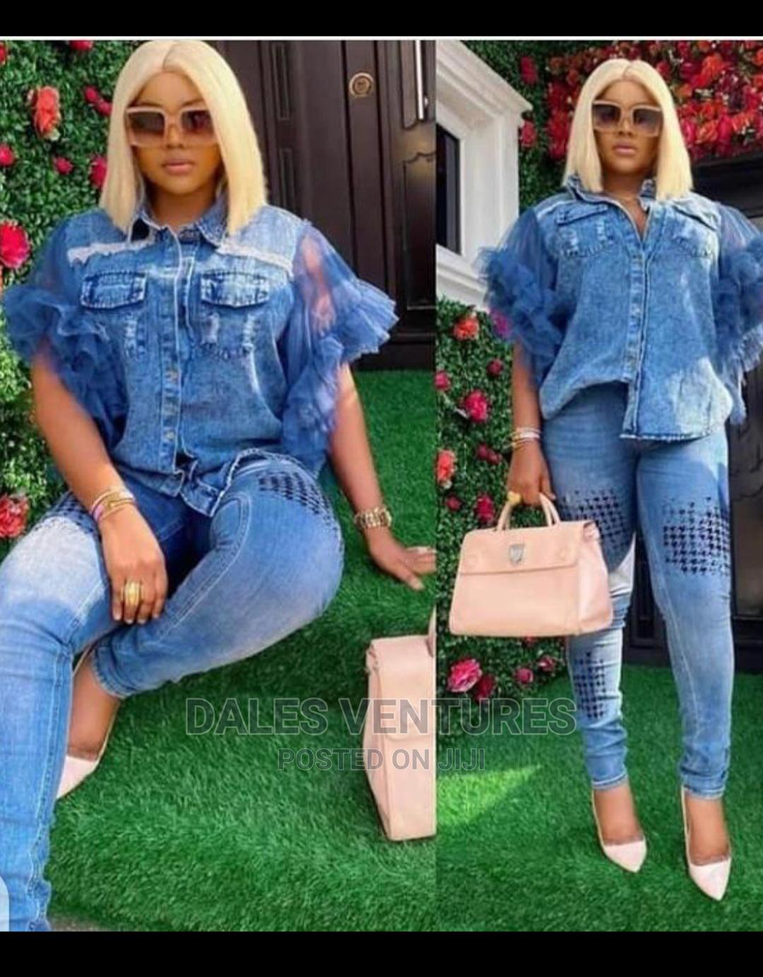 Classy Set of Jeans Dress for Women   Clothing for sale in Lekki, Lagos State, Nigeria
