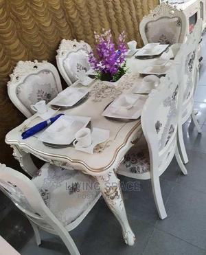 Executive Royal Dinning Table With 6 Fabric Chairs | Furniture for sale in Lagos State, Ajah