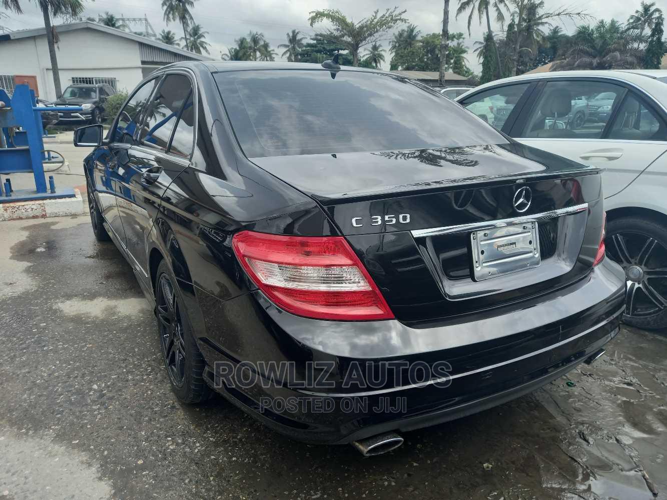 Mercedes-Benz C350 2009 Black   Cars for sale in Apapa, Lagos State, Nigeria