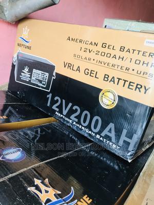 Neptune 12v 200ahs Solar Battery   Solar Energy for sale in Abuja (FCT) State, Kado