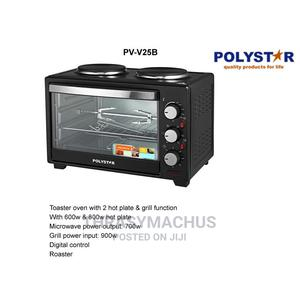 Polystar Toaster Oven With 2hot Plates and Grill   Kitchen Appliances for sale in Lagos State, Ojo