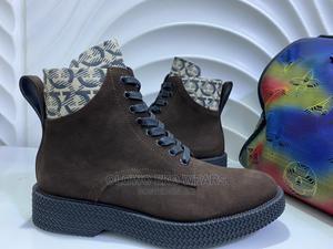 Salvatore Ferragamo Suede Brown  | Shoes for sale in Lagos State, Lagos Island (Eko)