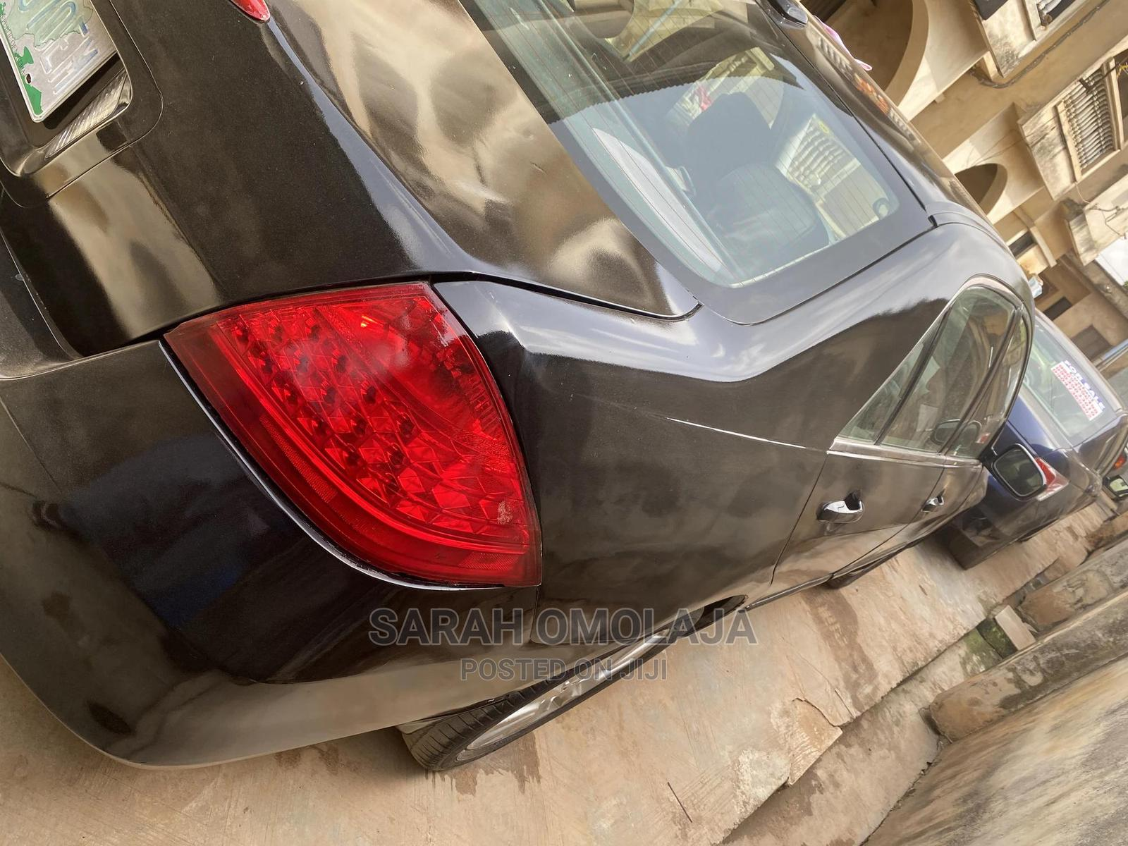 Honda Accord 2007 Sedan EX-L V-6 Automatic Black | Cars for sale in Abule Egba, Lagos State, Nigeria