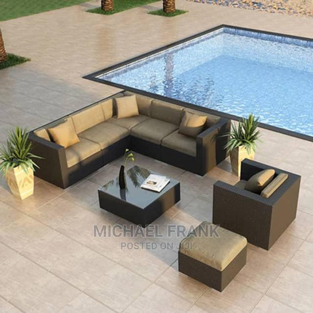 L Shape Outdoor Chair