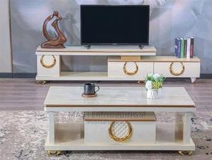 Standard Modern Centre Table With TV Stands | Furniture for sale in Lagos State, Badagry