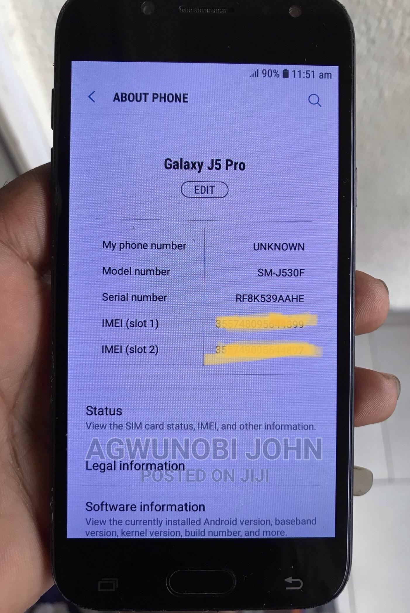 Samsung Galaxy J5 Pro 16 GB Black | Mobile Phones for sale in Obio-Akpor, Rivers State, Nigeria