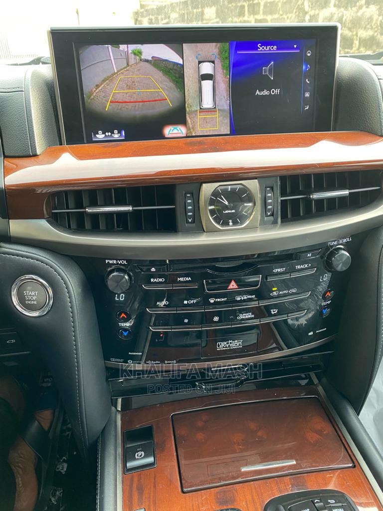 Lexus LX 2016 570 Base Gray | Cars for sale in Lekki, Lagos State, Nigeria