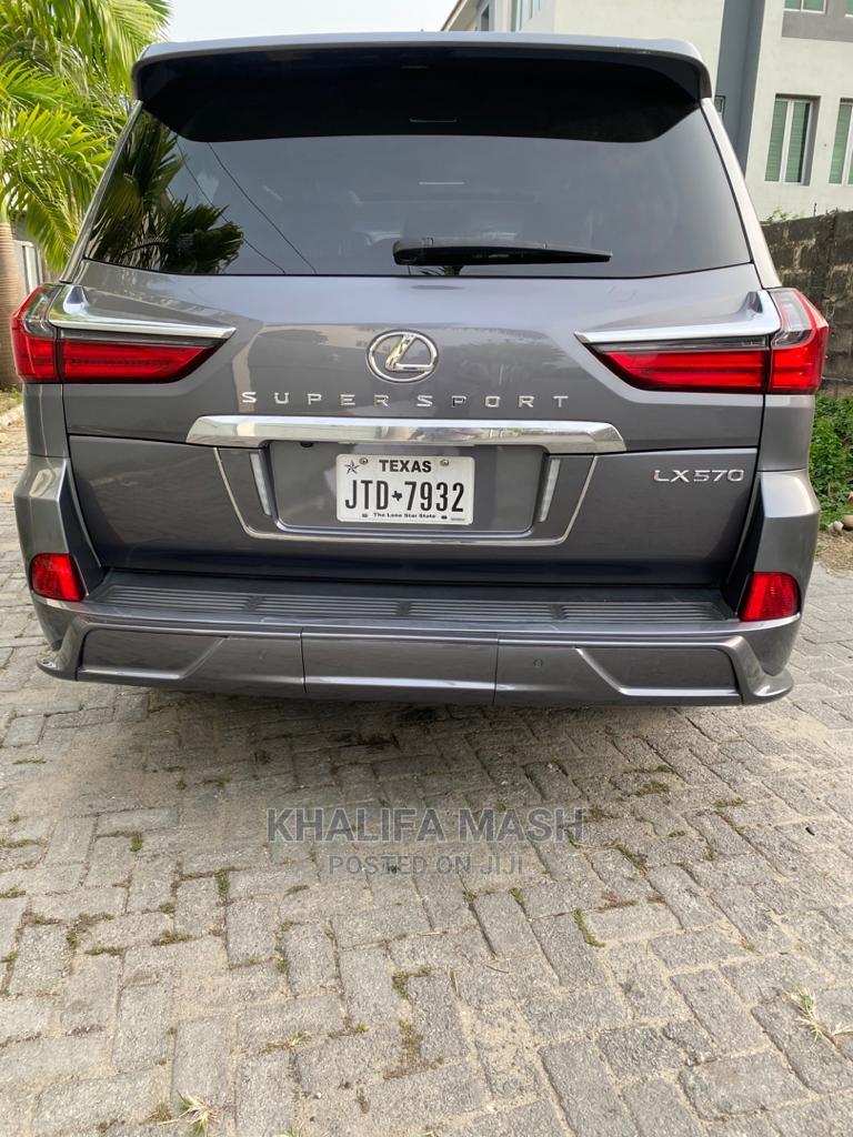 Lexus LX 2016 570 Base Gray   Cars for sale in Lekki, Lagos State, Nigeria