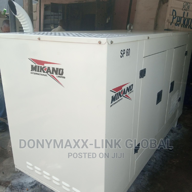 60kva Mikano Generator Perkins | Electrical Equipment for sale in Ikeja, Lagos State, Nigeria