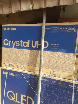 Original Samsung TV 55inches Smart TV Model Number 55tu7000   TV & DVD Equipment for sale in Lagos State, Oshodi