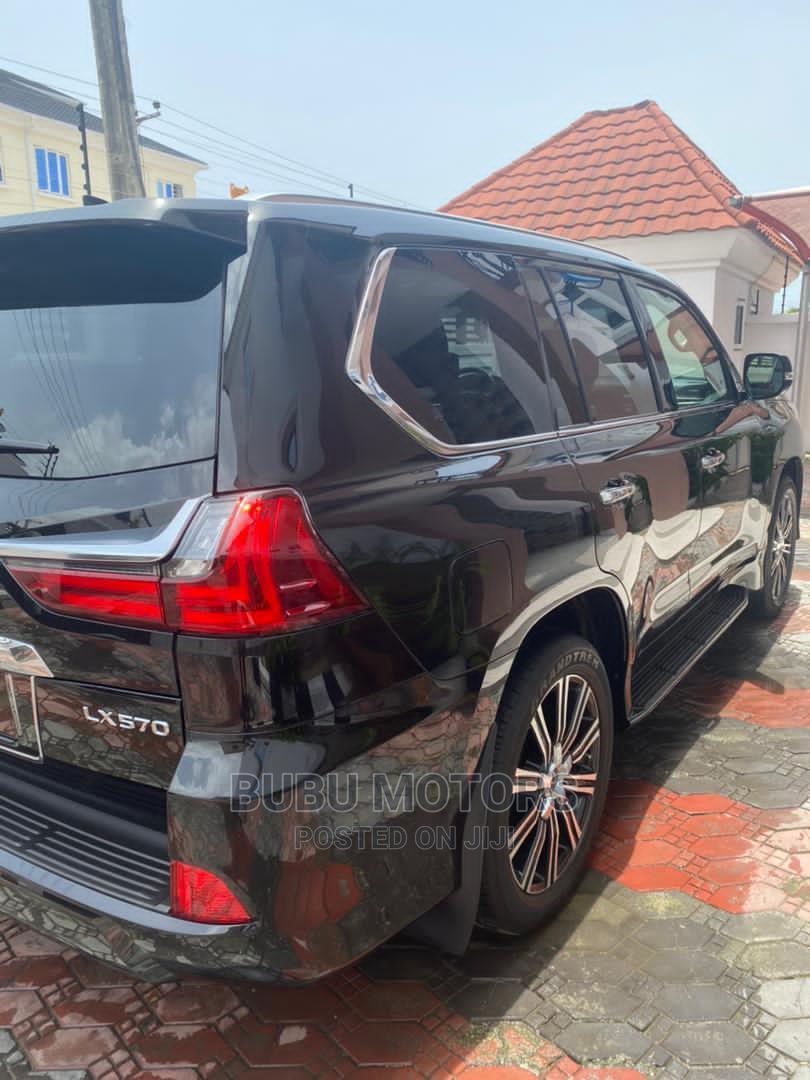 Lexus LX 2019 570 Three-Row Black | Cars for sale in Ikeja, Lagos State, Nigeria