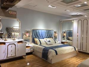 Quality Royal Set of Bed With Wardrop and Drawers | Furniture for sale in Abuja (FCT) State, Central Business Dis