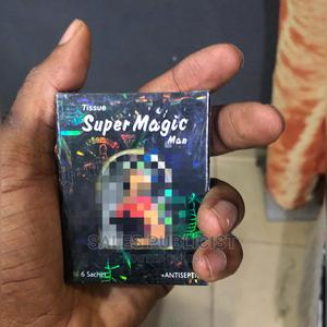 Tissue Super Magic Man for Delay / Premature Ejaculation   Sexual Wellness for sale in Lagos State, Surulere