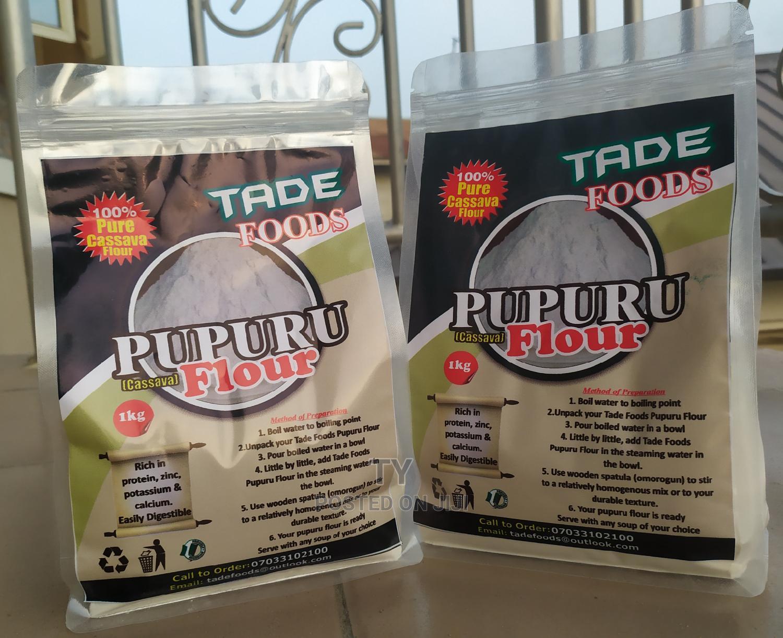 100% Undiluted Pupuru (Cassava) Flour