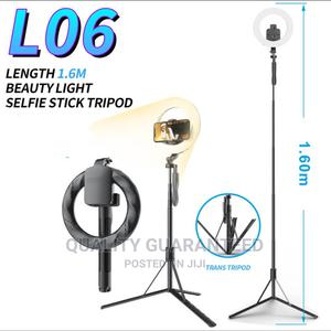 Selfie Stick Tripod Stand Ring Light | Accessories for Mobile Phones & Tablets for sale in Lagos State, Yaba