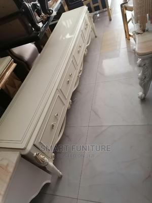 Executive Long Wooden TV Stand   Furniture for sale in Lagos State, Victoria Island