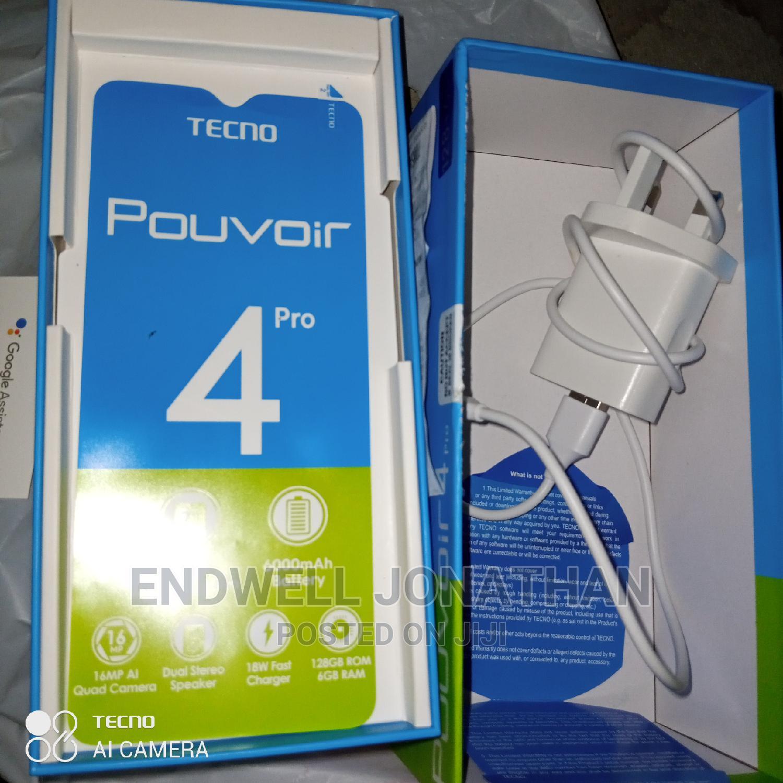 New Tecno Pouvoir 4 Pro 128 GB Blue