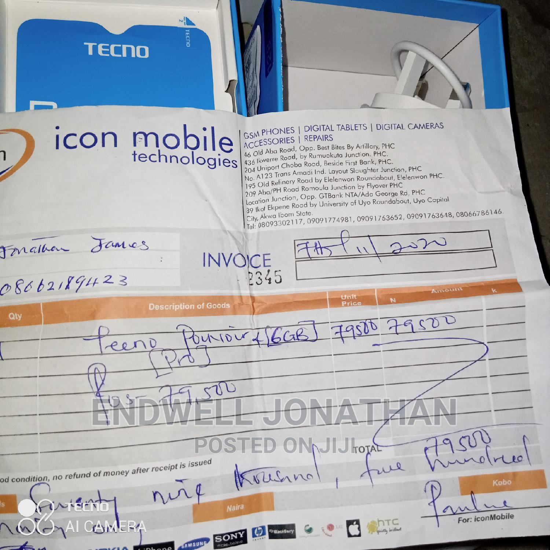 New Tecno Pouvoir 4 Pro 128 GB Blue   Mobile Phones for sale in Obio-Akpor, Rivers State, Nigeria