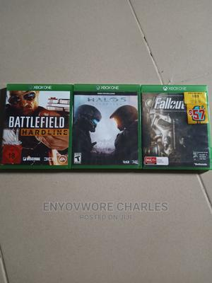 Xbox One BATTLEFIELD HARDLINE, HALO 5 FALLOUT 4 | Video Games for sale in Lagos State, Amuwo-Odofin