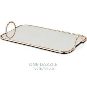 Gold Mirror Tray | Home Accessories for sale in Lagos State, Ikeja