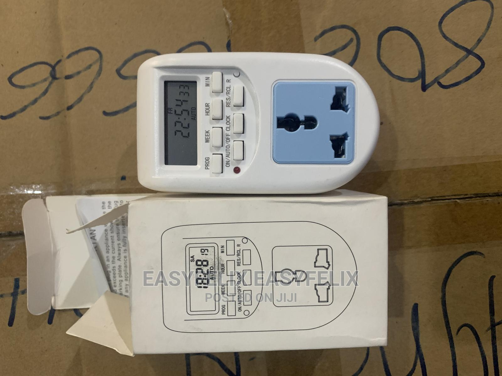 Plastic TS-03 Digital Timer Programmable Timer Switch