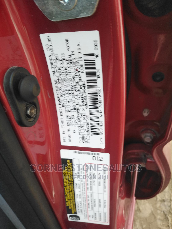 Toyota Tacoma 2006 Red | Cars for sale in Amuwo-Odofin, Lagos State, Nigeria