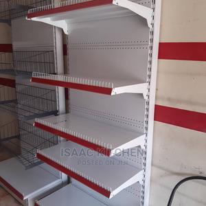 Single Supermarket Shelve Red White | Store Equipment for sale in Lagos State, Ojo