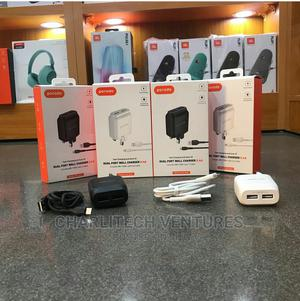 Porodo Dual Port Wall Charger . | Accessories for Mobile Phones & Tablets for sale in Lagos State, Ikeja