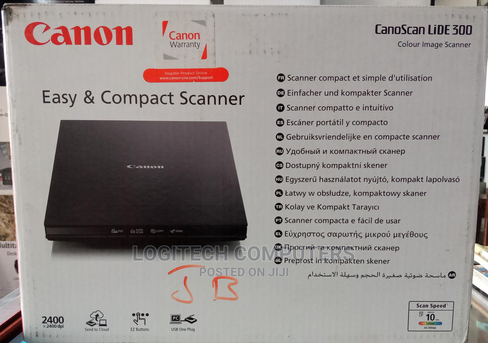 High Resolution Canon Colour Scanner