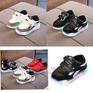 Kids Unisex Led Light Sneakers | Children's Clothing for sale in Lagos State, Alimosho