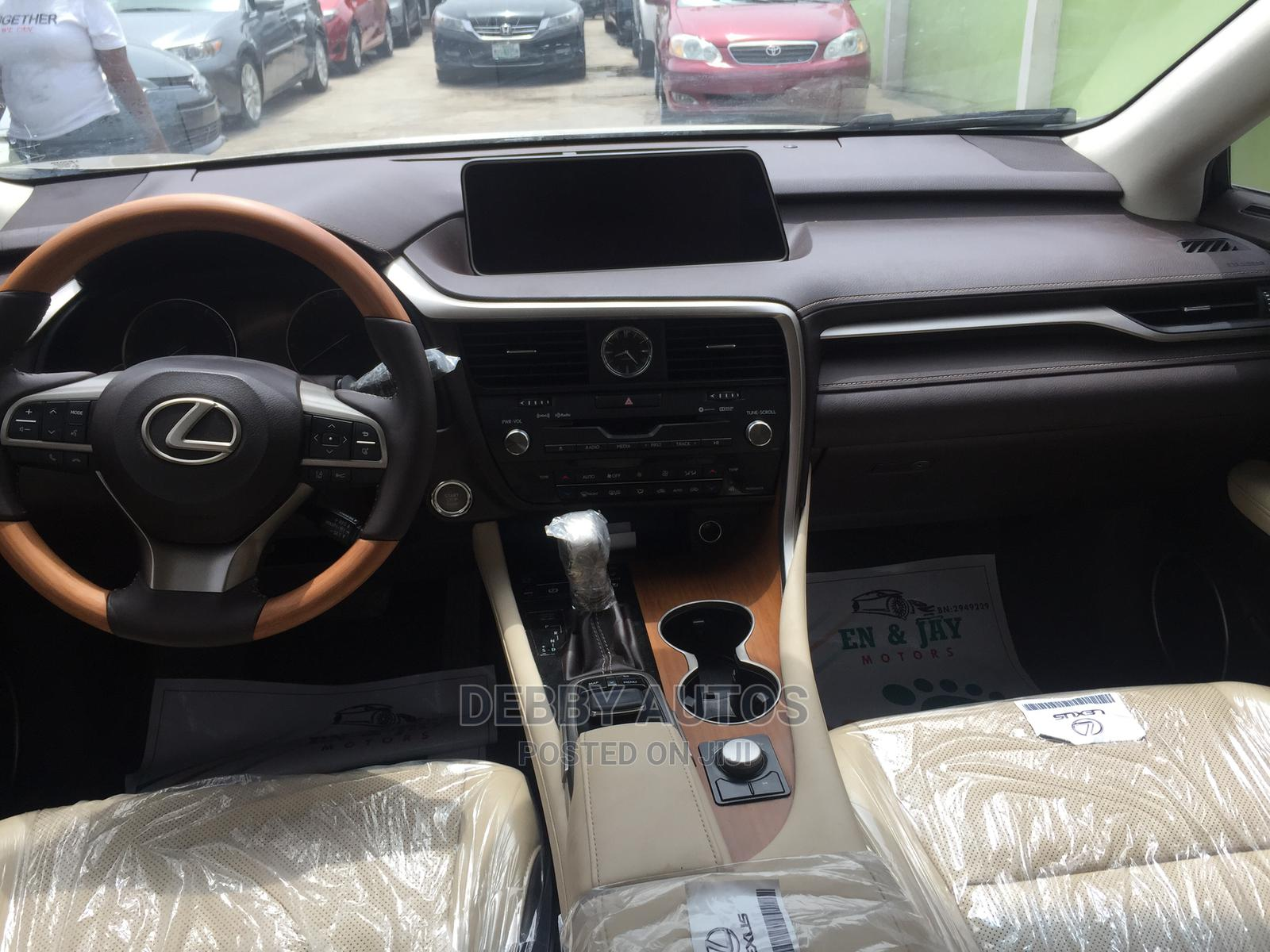 Lexus RX 2016 Gold   Cars for sale in Agege, Lagos State, Nigeria