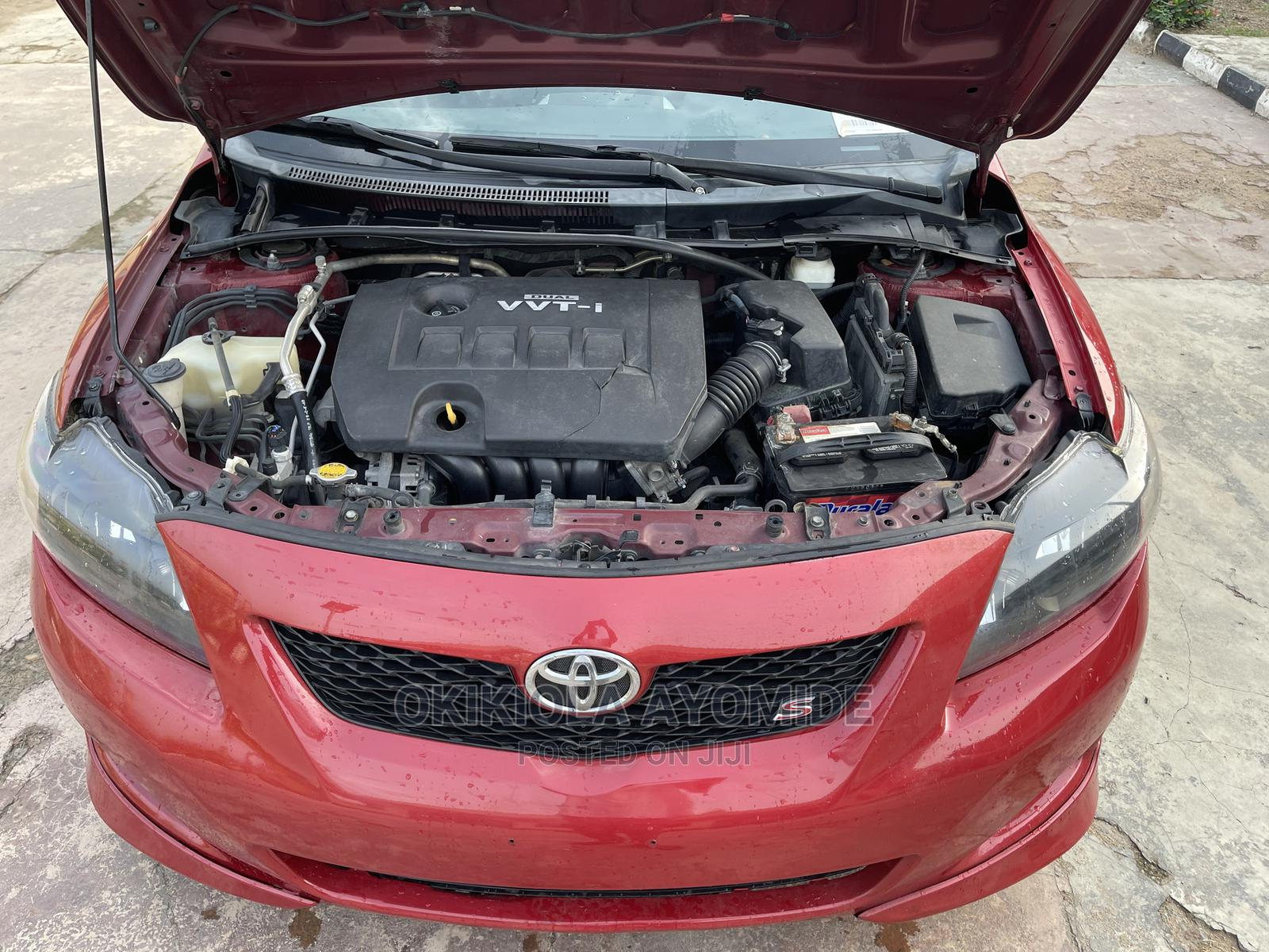 Toyota Corolla 2009 Red | Cars for sale in Mushin, Lagos State, Nigeria