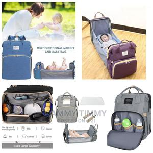 Multifunctional Baby Diaper Bag/Backpack With Baby Crib Mat   Baby & Child Care for sale in Lagos State, Ikorodu