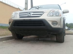 Honda CR-V 2005 2.0i ES Automatic Gold | Cars for sale in Lagos State, Ikeja