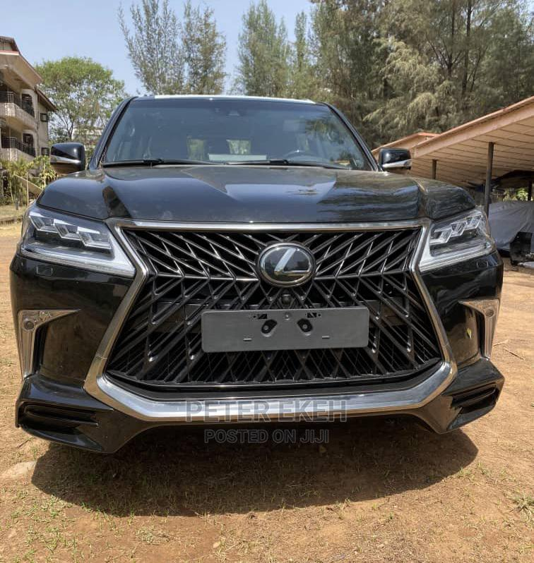 New Lexus LX 2020 Black