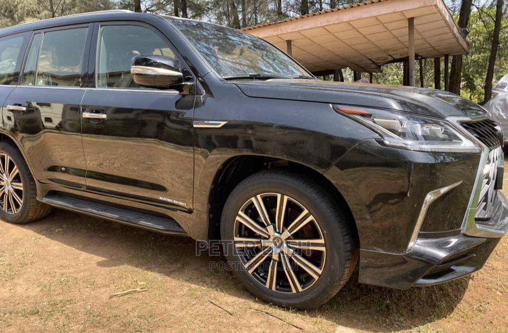 New Lexus LX 2020 Black | Cars for sale in Central Business Dis, Abuja (FCT) State, Nigeria